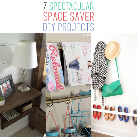 7 Spectacular Space Saver DIY Projects