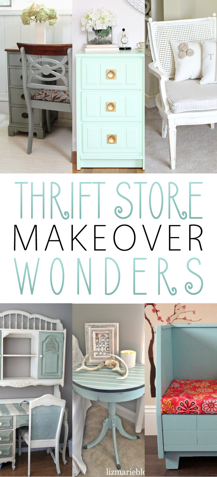 Thrift Store Makeover Wonders The Cottage Market