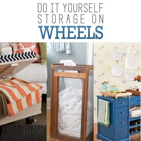 DIY Storage on Wheels