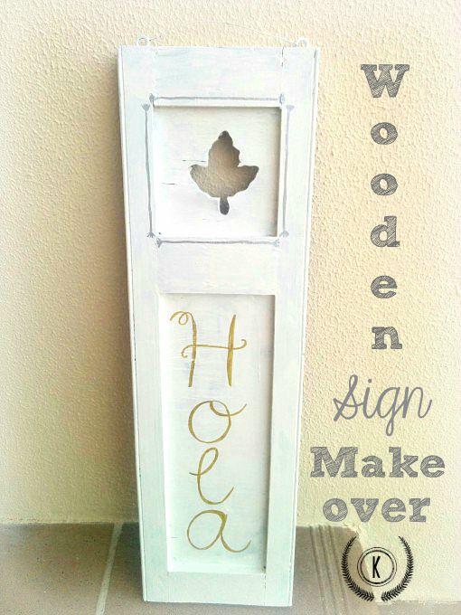 Wooden-Sign-Makeover