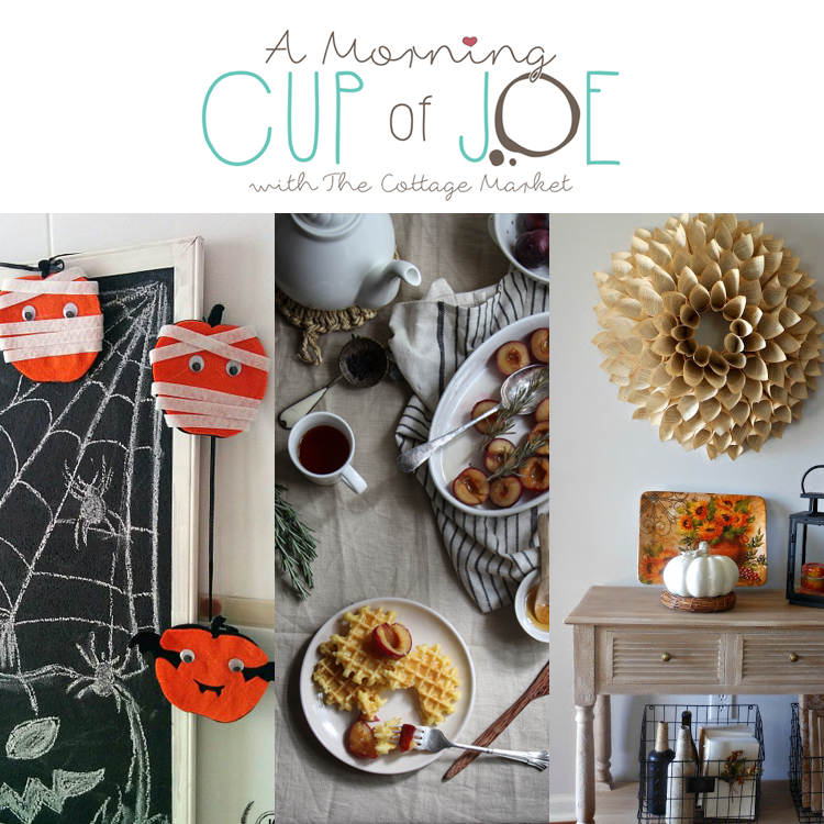 Cup of Morning Joe DIY Projects Recipes + More Linky Party