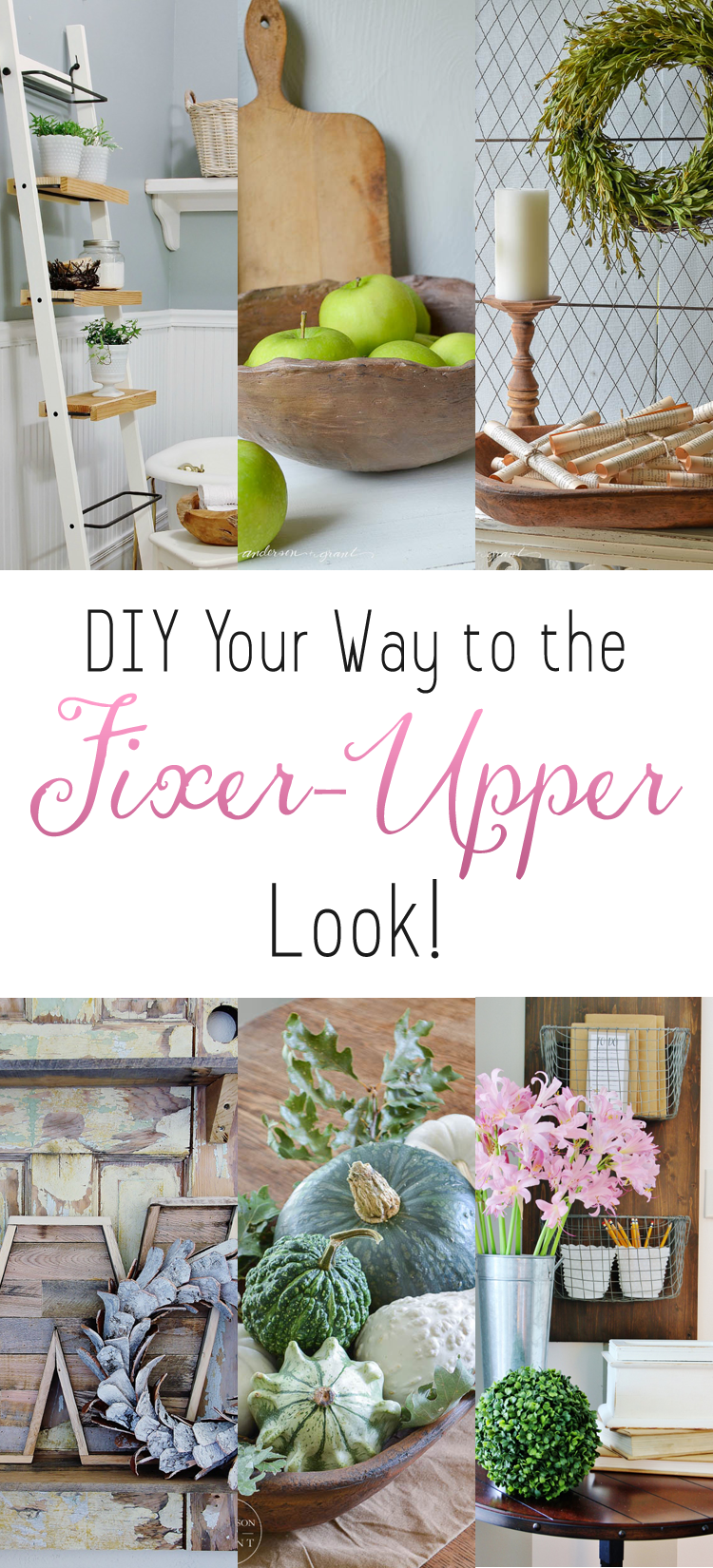 A year of DIY blog posts from 11 Magnolia Lane | 11 ... |Fixer Upper Diy