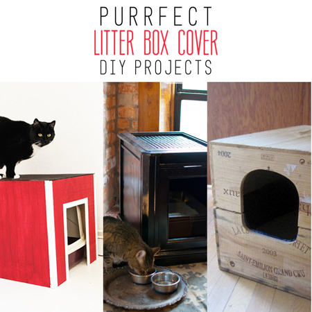 Purrfect Litter Box Cover DIY Projects