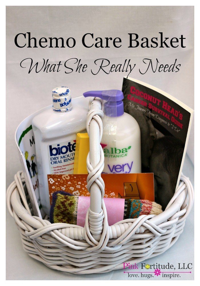 A morning cup of joe diy projects recipes and more linky party chemo care basket for cancer what she really solutioingenieria Gallery