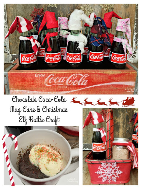 Chocolate coca-cola mug cake