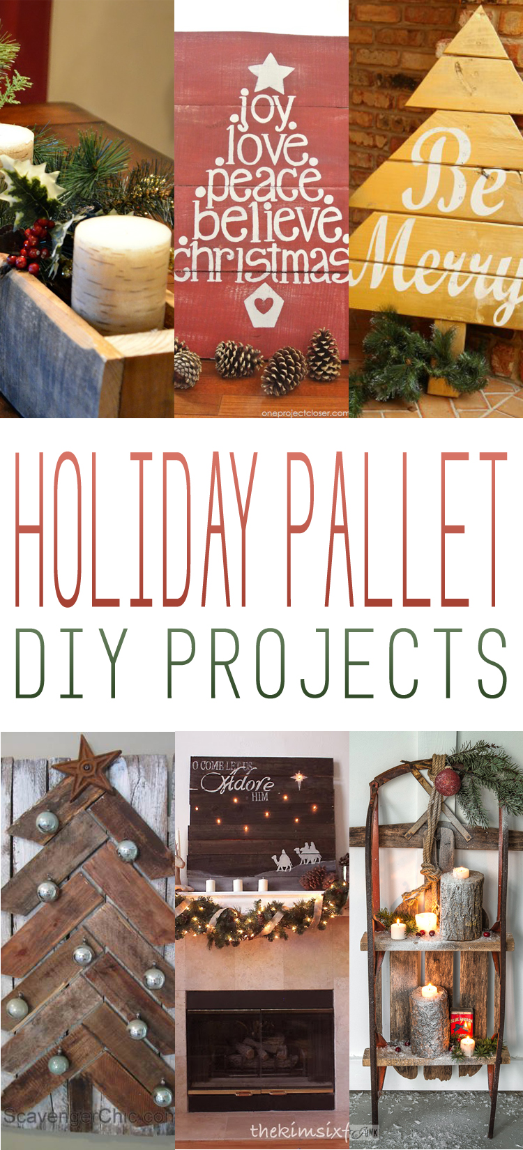 Holiday Pallet DIY Projects - The Cottage Market