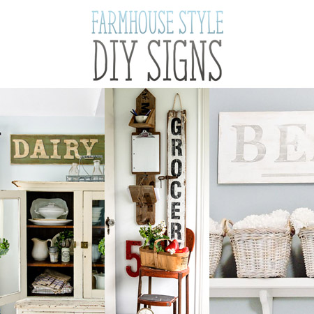 Farmhouse Style Diy Signs The Cottage Market
