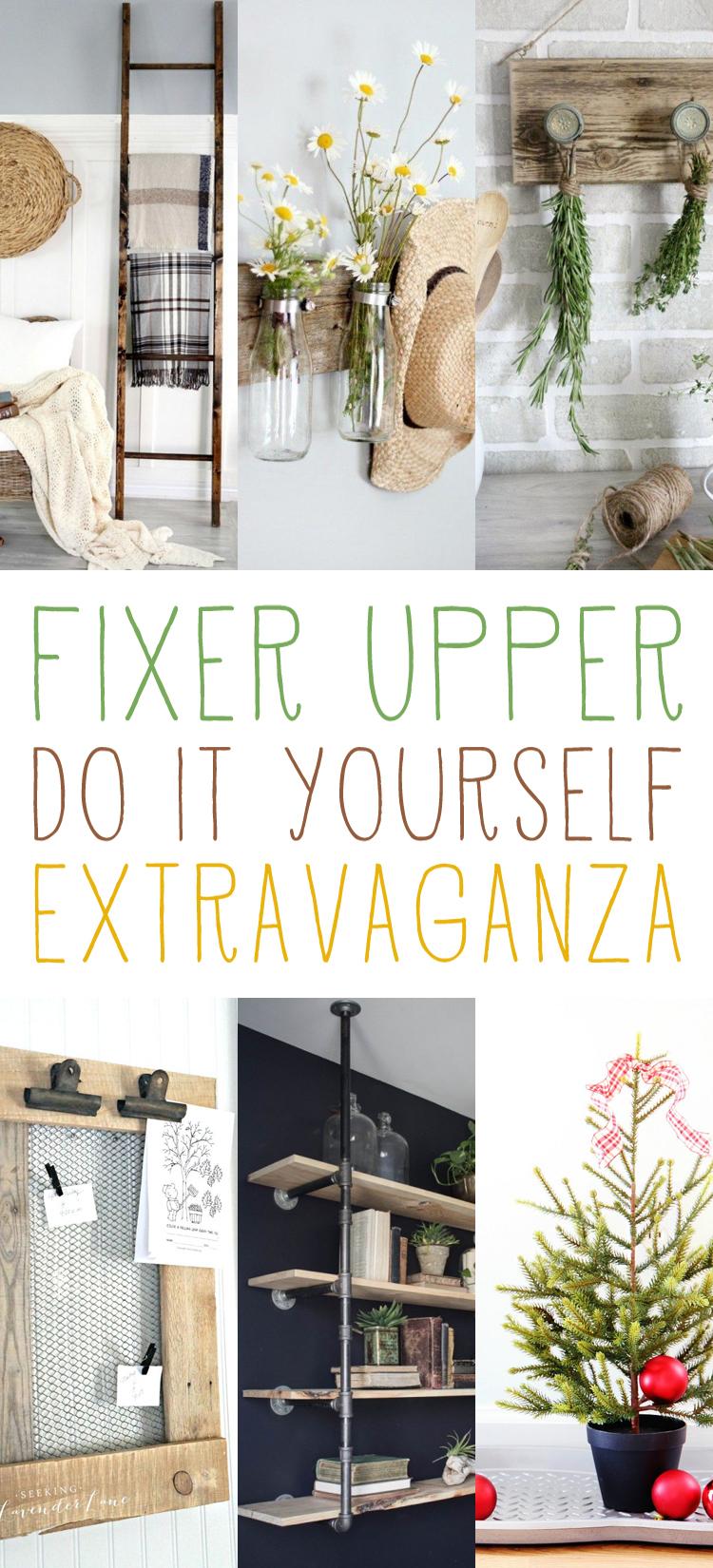 Fixer Upper DIY Extravaganza - The Cottage Market |Fixer Upper Diy
