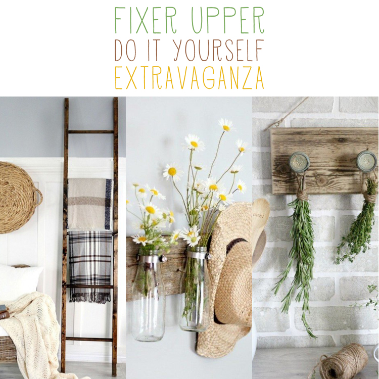 Ladder magnolias and display on pinterest for Does the furniture stay on fixer upper