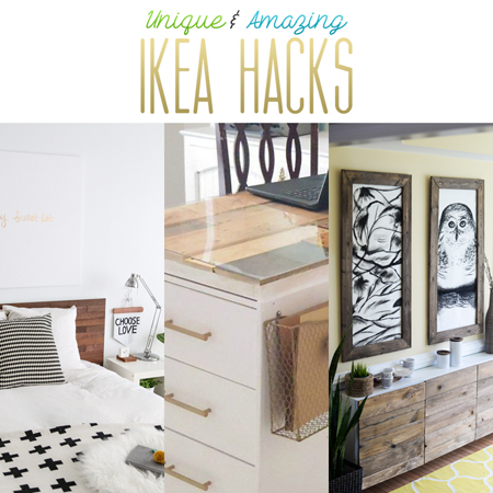 Unique and Amazing Ikea Hacks