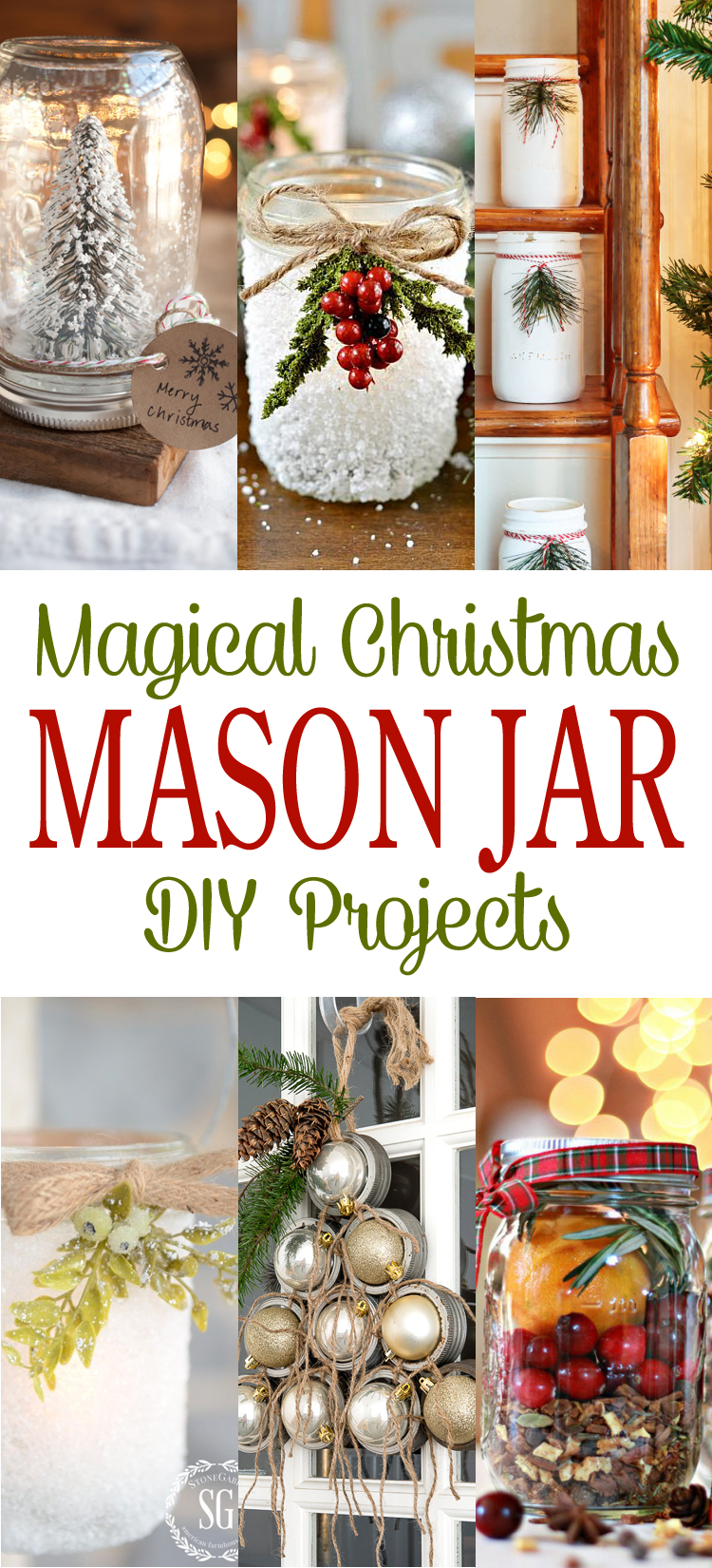 Christmas Crafts With Small Mason Jars