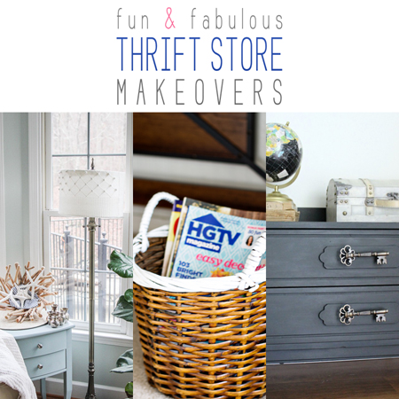 Fun and Fabulous Thrift Store Makeovers