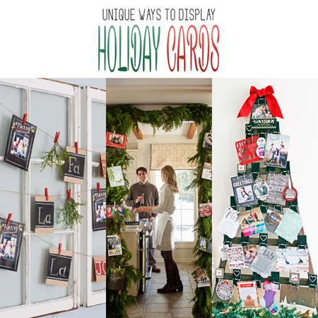 Unique ways to display holiday cards the cottage market unique ways to display holiday cards m4hsunfo