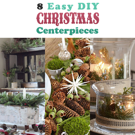 8 easy diy christmas centerpieces the cottage market - Diy Christmas Centerpieces