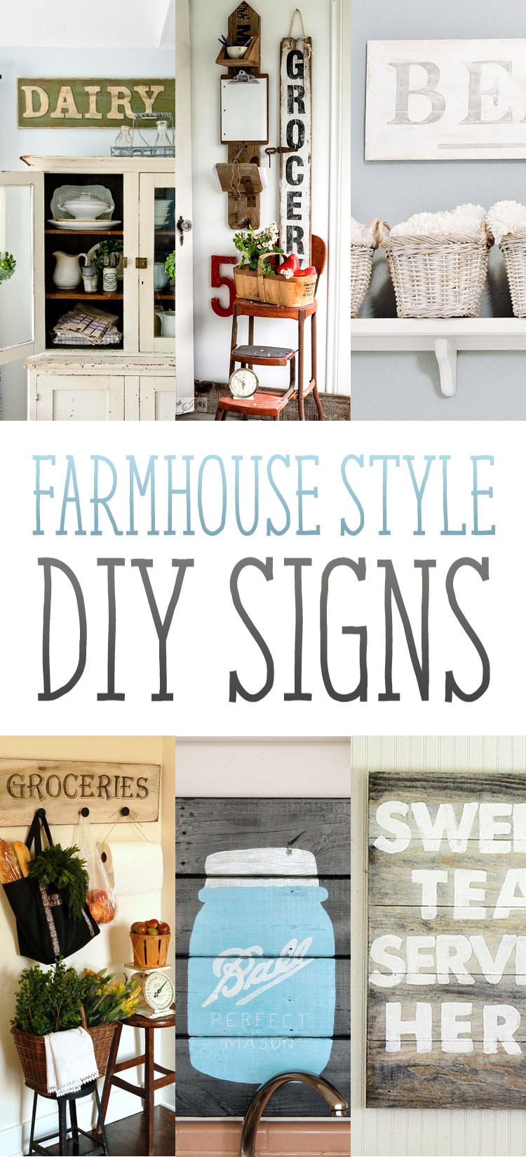 Vintage Kitchen Signs Design