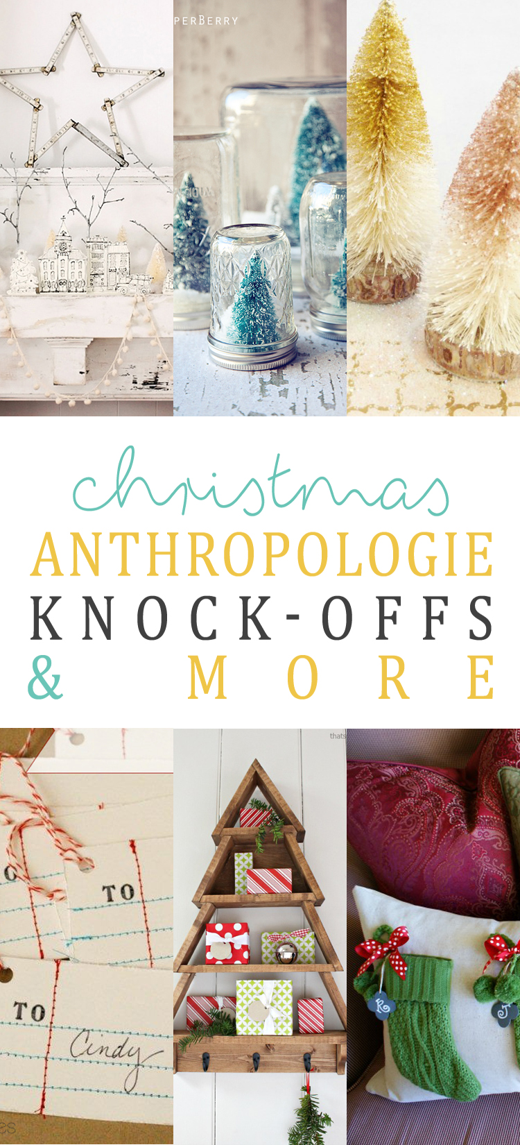 Knock Offs Toy Meets World: Christmas Anthropologie Knock-Offs And More