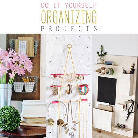 DIY Organizing Projects