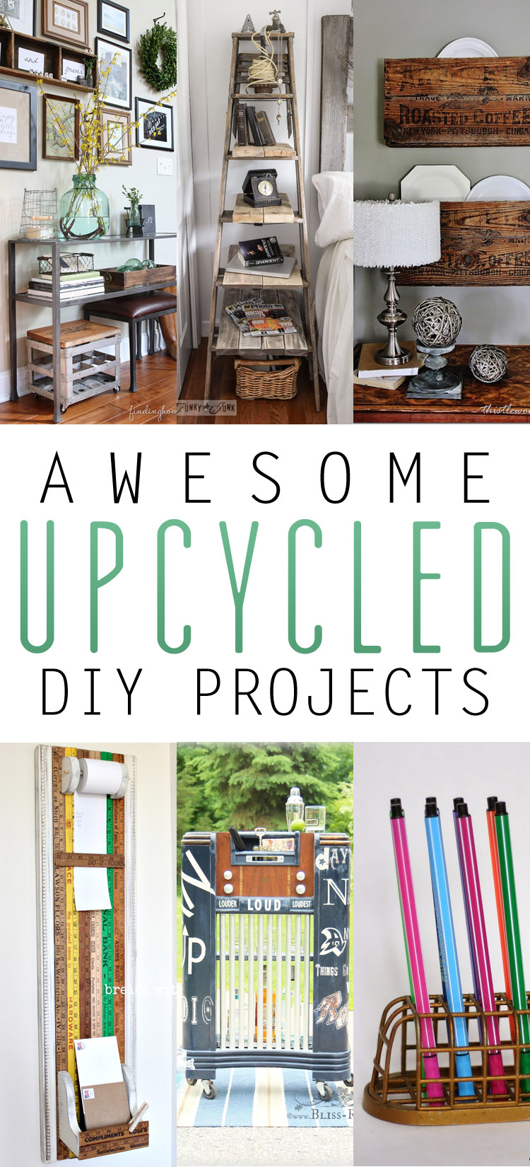 Awesome upcycled diy projects the cottage market for Epic diy projects