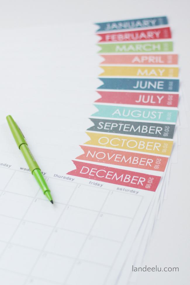 a dozen 2016 free printable calendars the cottage market