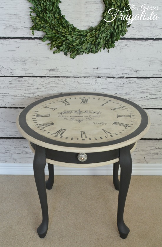 Clock Table 5W