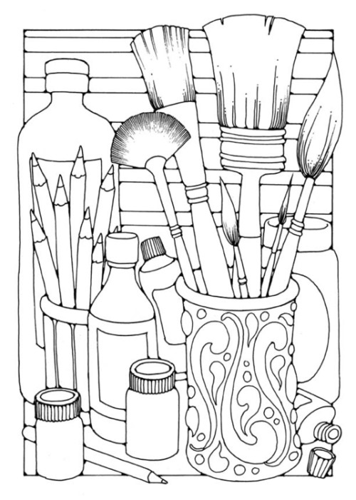 Free Adult Coloring Pages - The Cottage Market