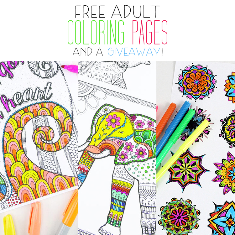 Free Adult Coloring Pages The Cottage Market