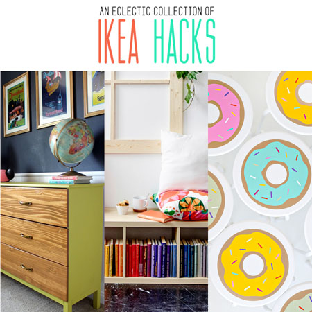 An Eclectic Collection of Ikea Hacks