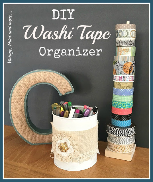 IMG_0991[1] diy washi tape organizer with tin can pencil holder pinterest image