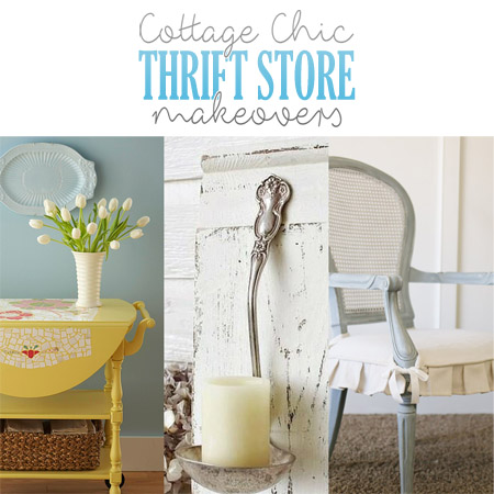 Cottage Chic Thrift Store Makeovers