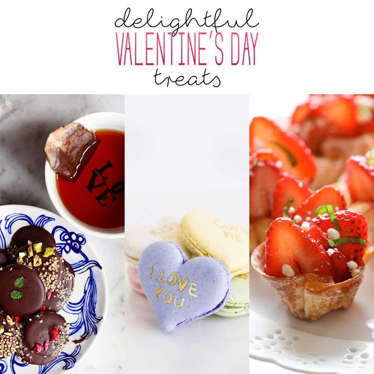 A Dozen Delightful Valentine's Day Treats