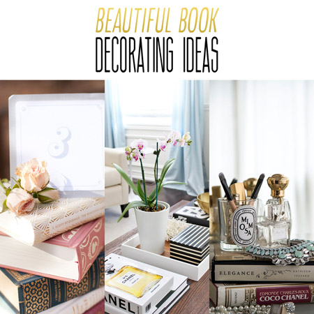 Beautiful Book Decorating Ideas