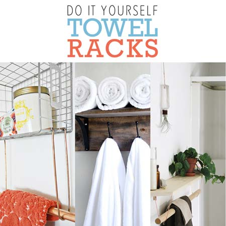 DIY Towel Racks