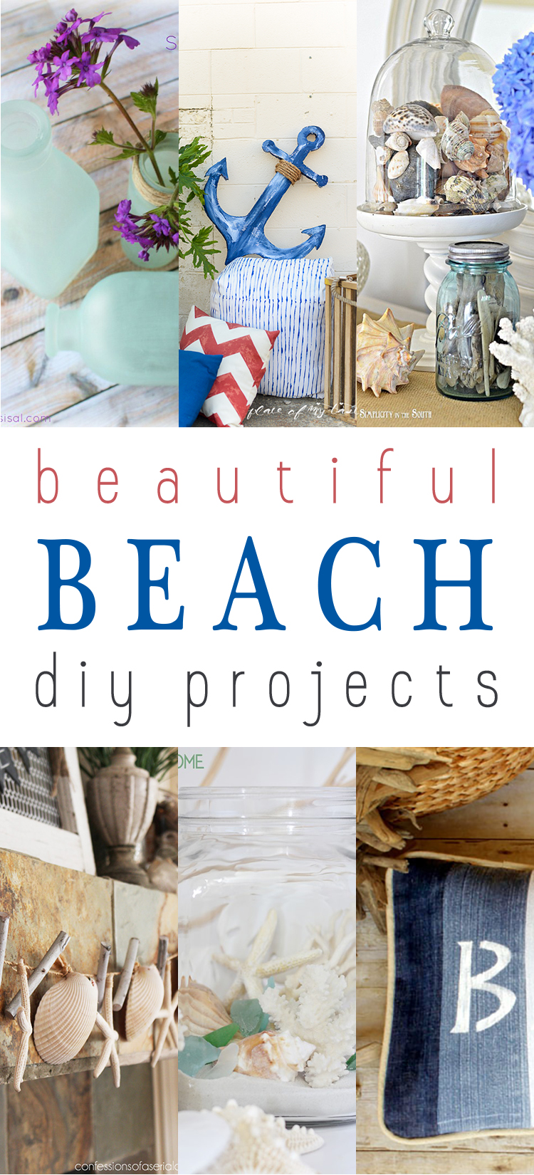 beautiful beach diy projects the cottage market