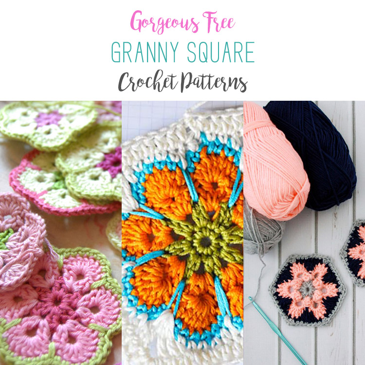 Use these free granny square crochet patterns to create something beautiful.