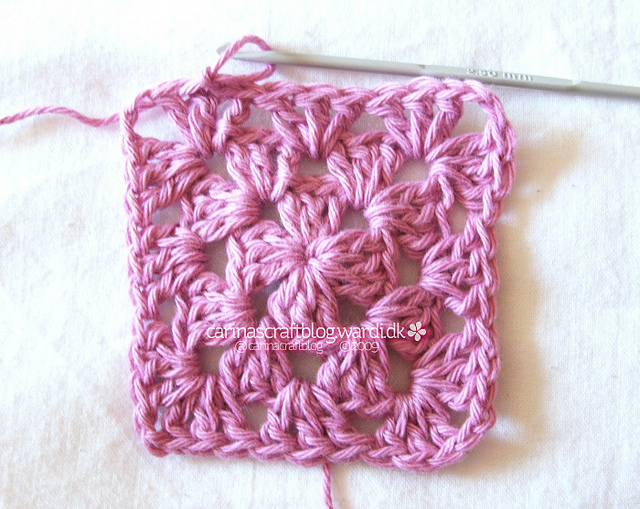 Check out this step by step granny square tutorial to learn how to crochet.