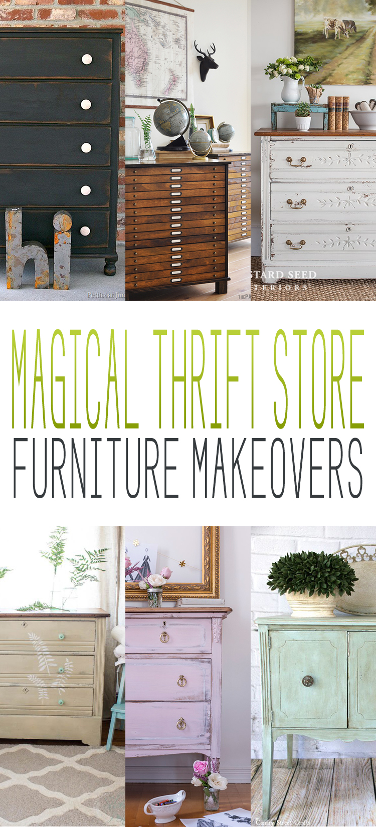 Magical Thrift Store Furniture Makeovers The Cottage Market