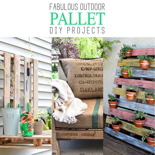 Fabulous Outdoor Pallet DIY Projects