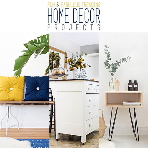 Home Decor Market: Fun And Fabulous Trending Home Decor Projects