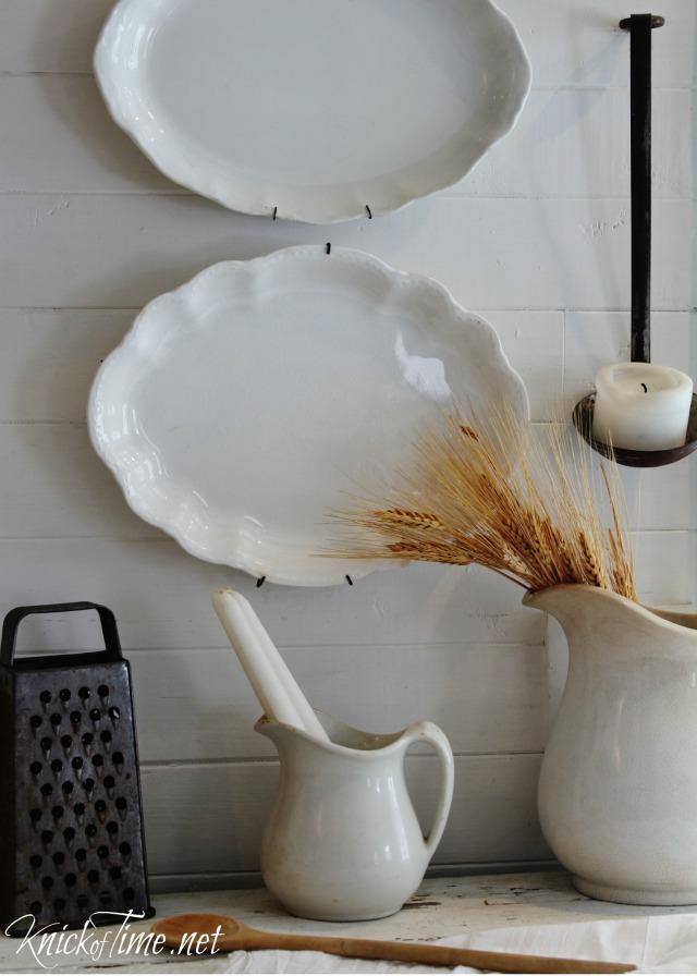 Vintage-white-plates