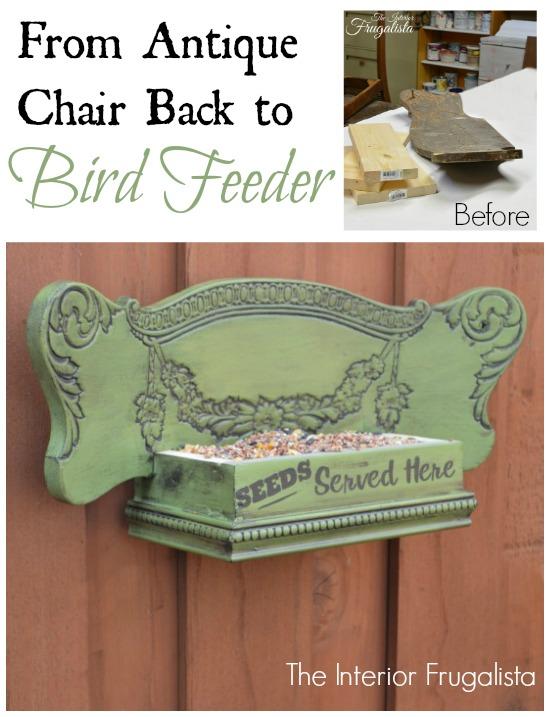 Chair Bird Feeder Graphic