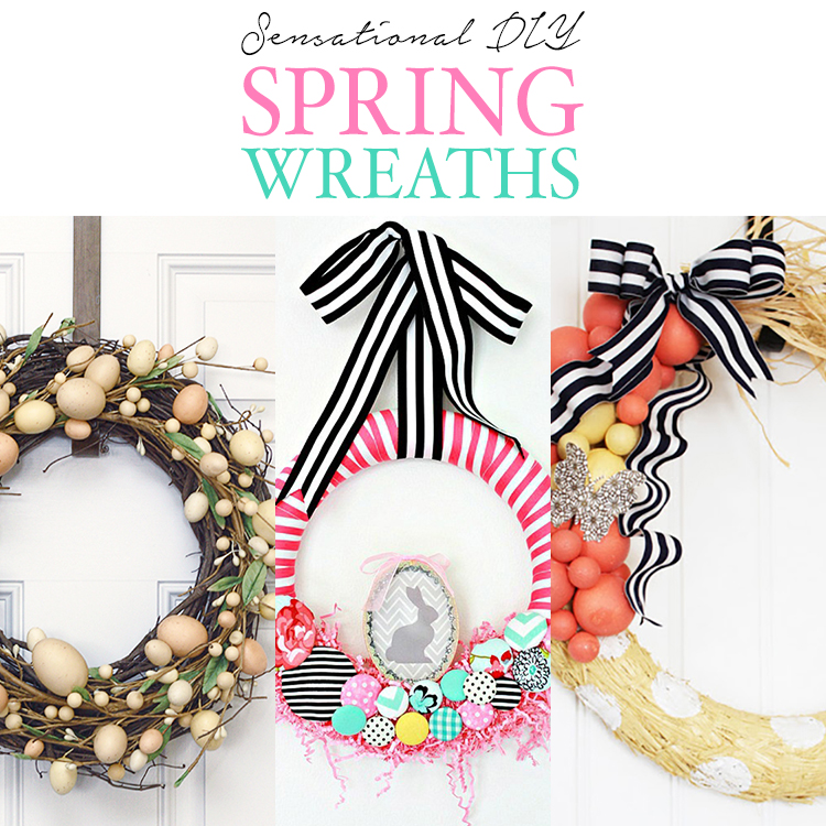 Sensational DIY Spring Wreaths