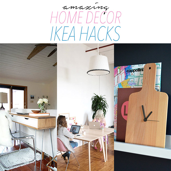 Amazing home decor ikea hacks the cottage market for Home decor hacks