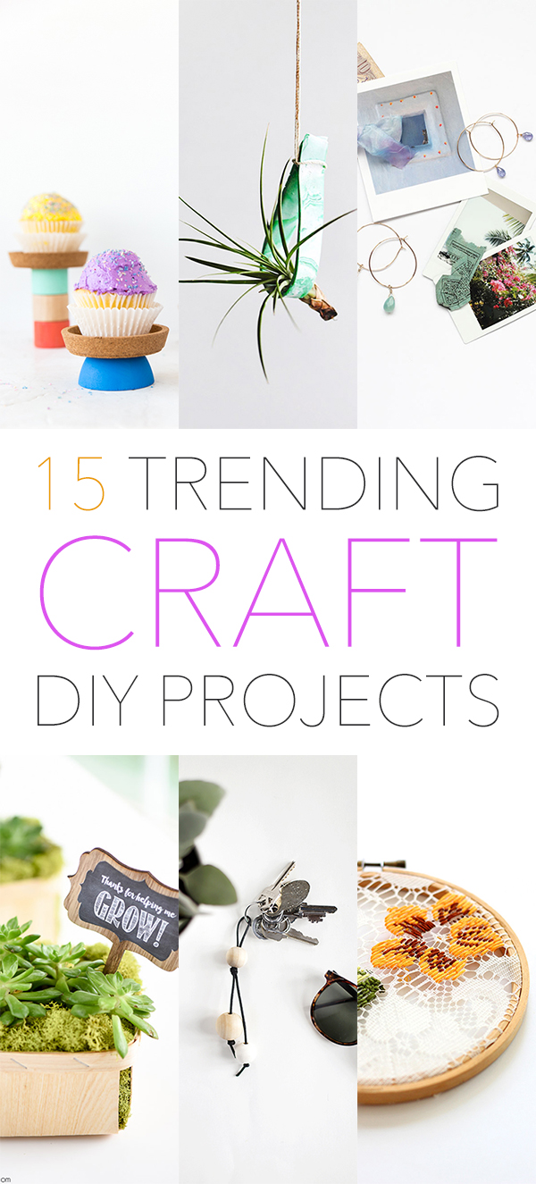 What S Trending 15 Popular Diy Craft Projects The Cottage Market