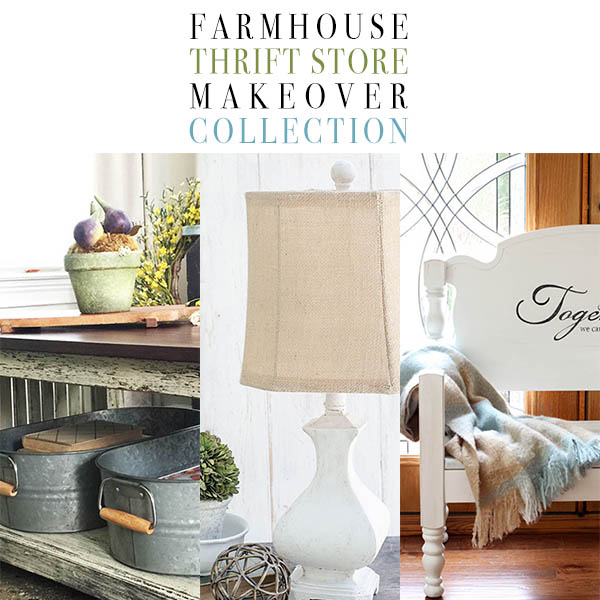 Farmhouse Thrift Store Makeover Collection