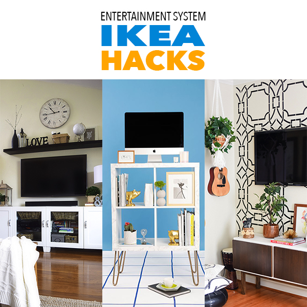 Entertainment System Ikea Hacks