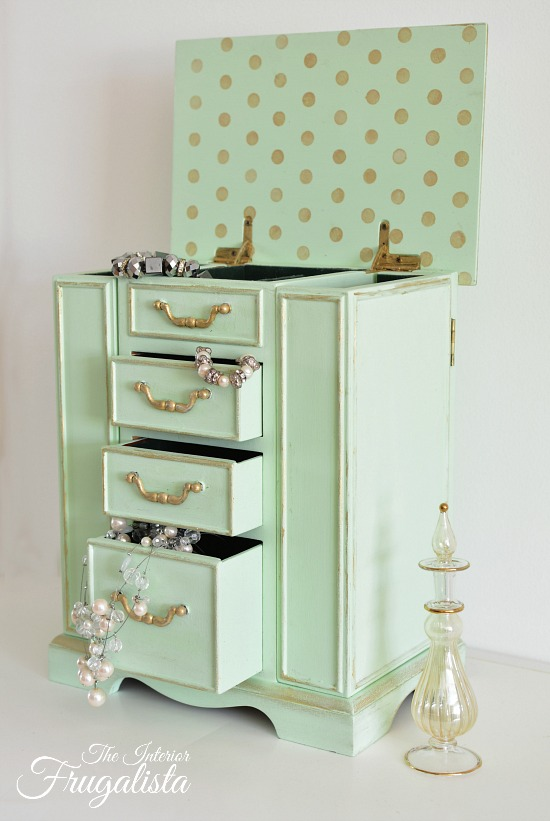 Jewelry Box Drawers OpenW