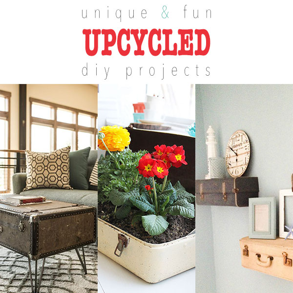 Unique and Fun Upcycled DIY Projects