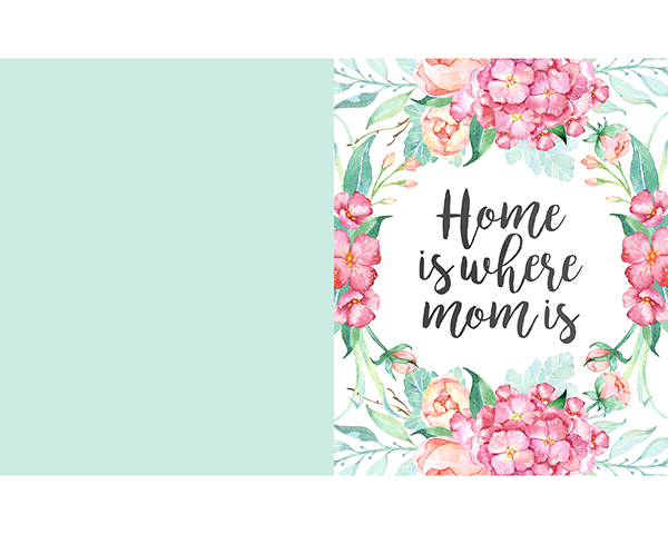 Free Printable Mother's Day Prints and Greeting Cards ...