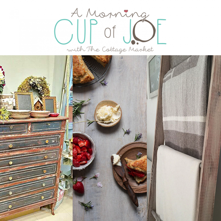 A Morning Cup of Joe, DIY Projects, Features & Linky Party