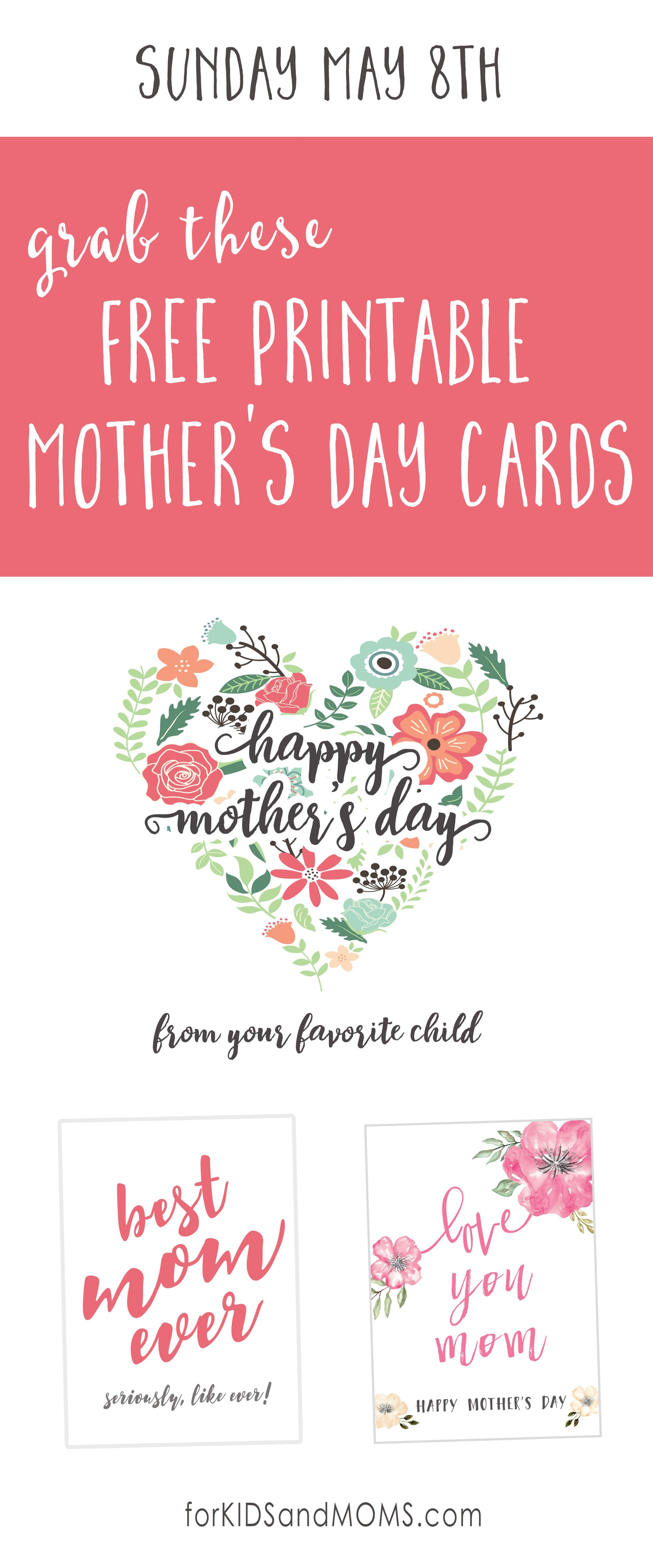 It's just a graphic of Légend Mother's Day Printables